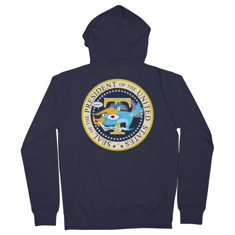 Trump POTUS Seal Women's Zip-Up Hoody by righthemispherelaboratory's Shop