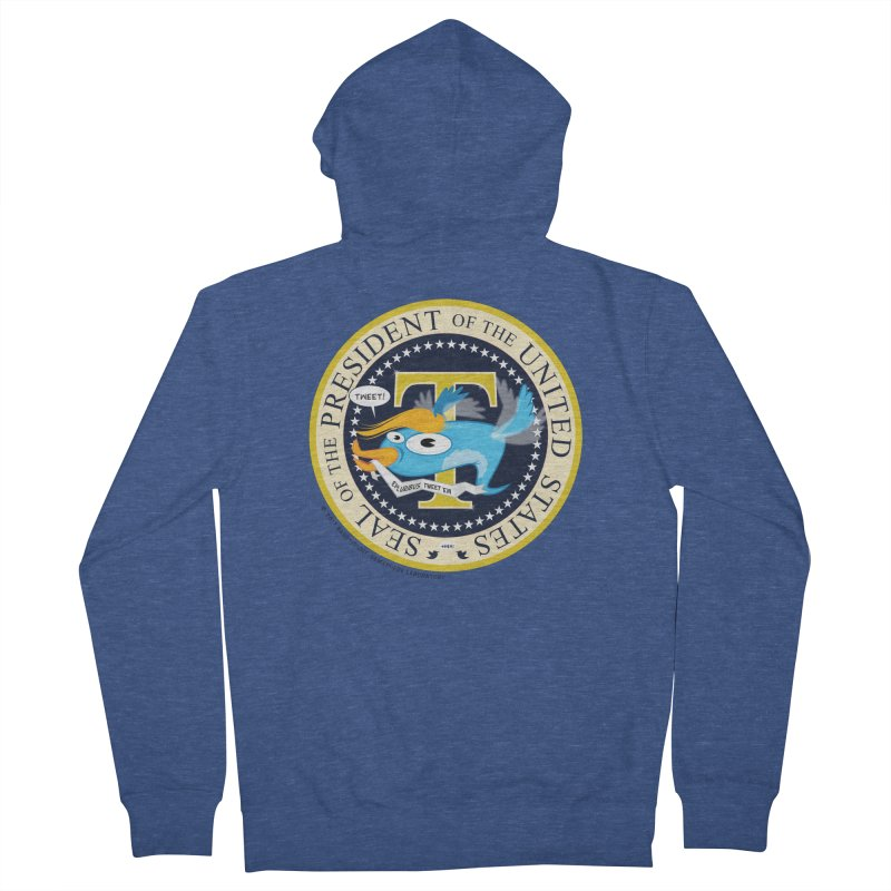 Trump POTUS Seal Men's Zip-Up Hoody by righthemispherelaboratory's Shop