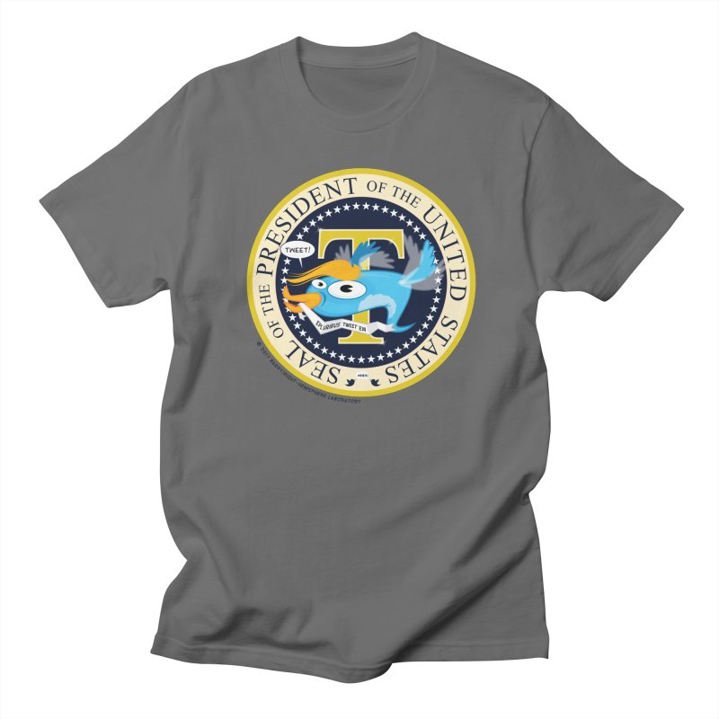 Trump POTUS Seal Men's T-Shirt by righthemispherelaboratory's Shop