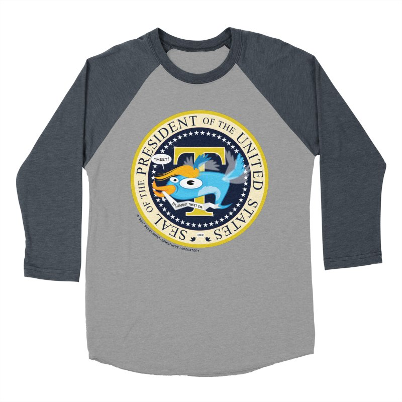Trump POTUS Seal Women's Baseball Triblend Longsleeve T-Shirt by righthemispherelaboratory's Shop