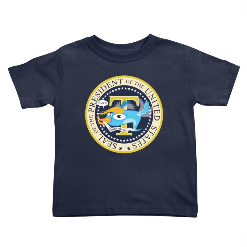 Trump POTUS Seal Kids Toddler T-Shirt by righthemispherelaboratory's Shop