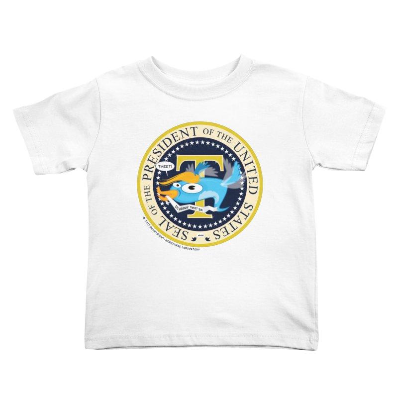Trump POTUS Seal Kids Toddler T-Shirt by righthemispherelaboratory's Shop