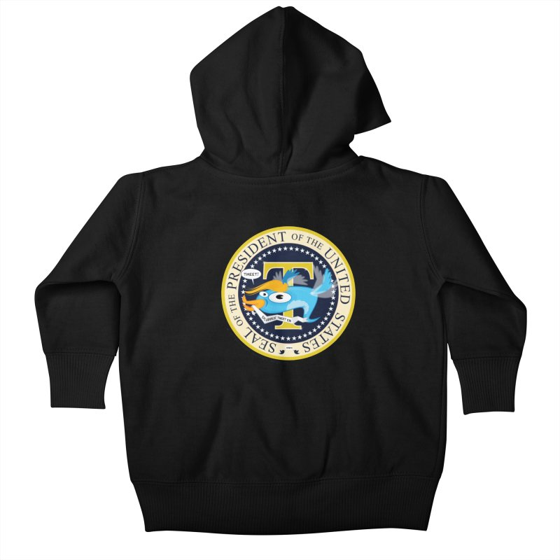 Trump POTUS Seal Kids Baby Zip-Up Hoody by righthemispherelaboratory's Shop