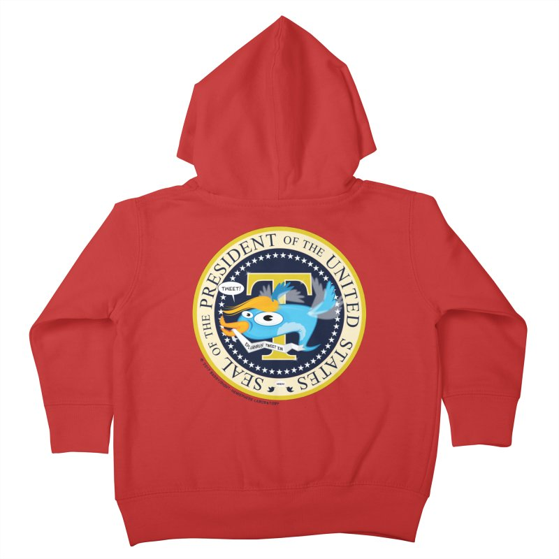 Trump POTUS Seal Kids Toddler Zip-Up Hoody by righthemispherelaboratory's Shop