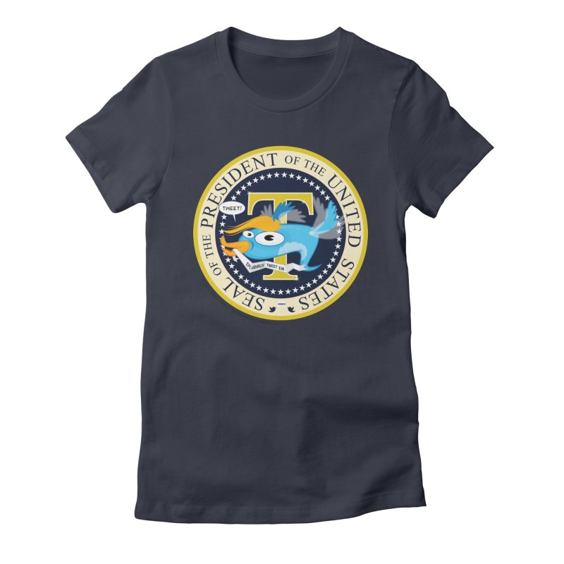 Trump POTUS Seal Women's Fitted T-Shirt by righthemispherelaboratory's Shop