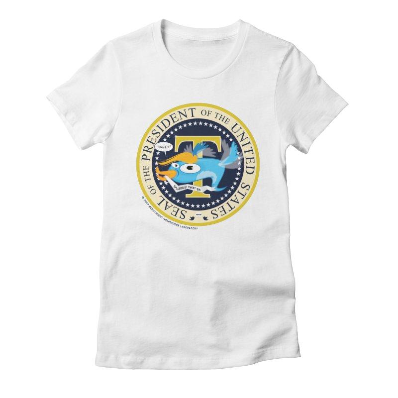 Trump POTUS Seal Women's T-Shirt by righthemispherelaboratory's Shop
