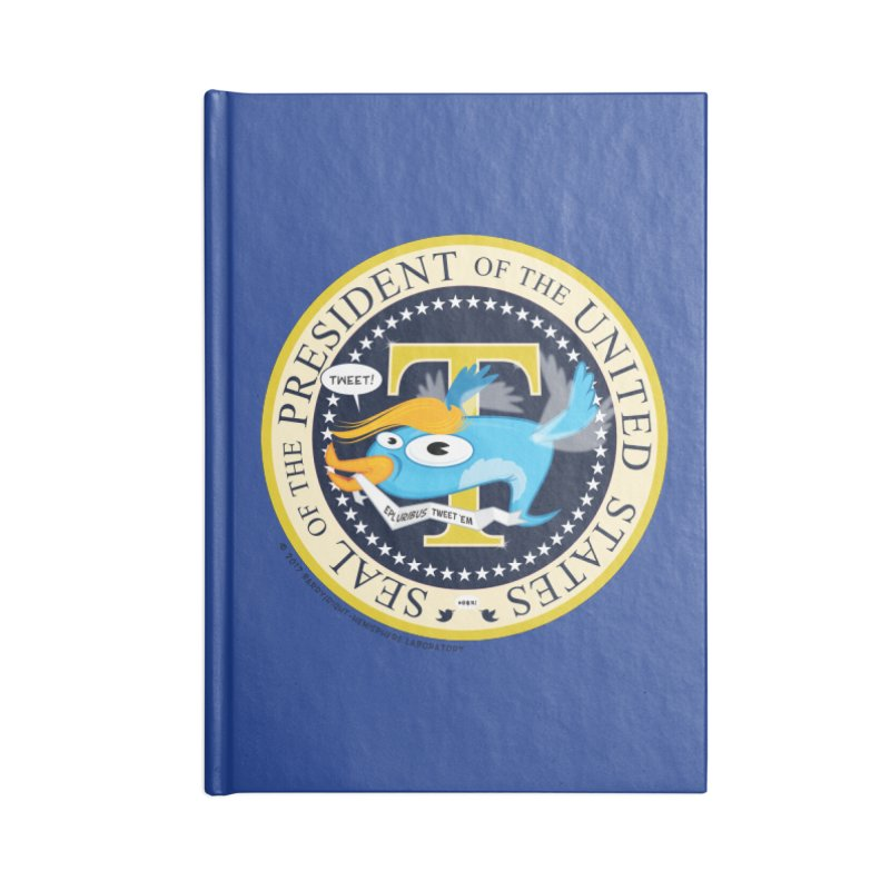 Trump POTUS Seal Accessories Blank Journal Notebook by righthemispherelaboratory's Shop