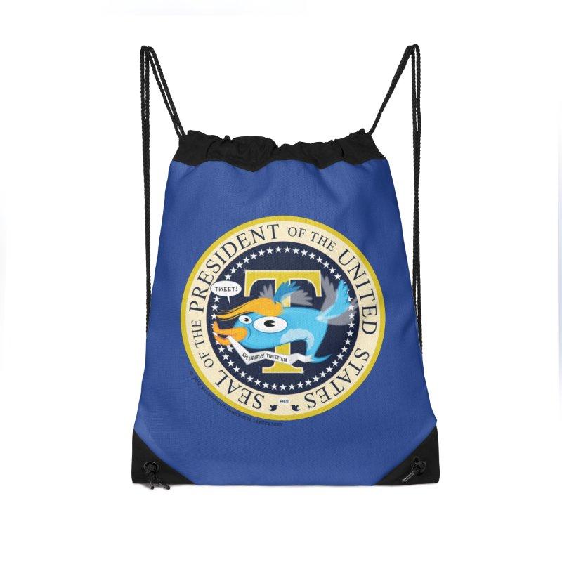Trump POTUS Seal Accessories Bag by righthemispherelaboratory's Shop