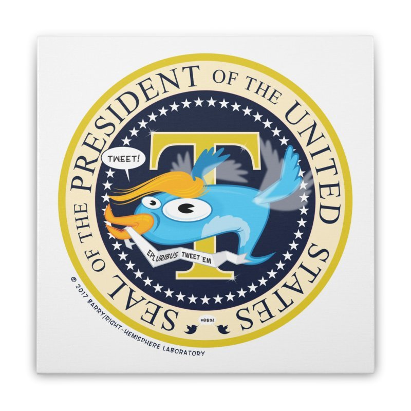 Trump POTUS Seal Home Stretched Canvas by righthemispherelaboratory's Shop