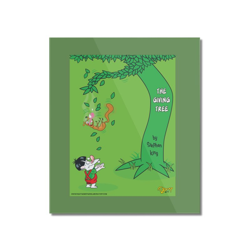 The Giving Tree Home Mounted Acrylic Print by righthemispherelaboratory's Shop