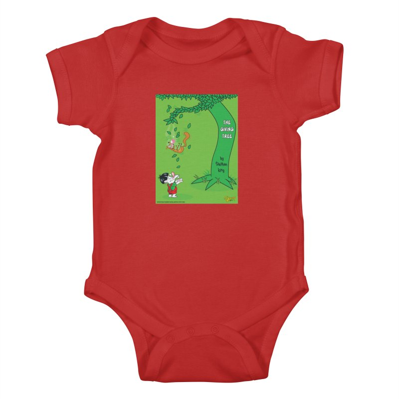 The Giving Tree Kids Baby Bodysuit by righthemispherelaboratory's Shop