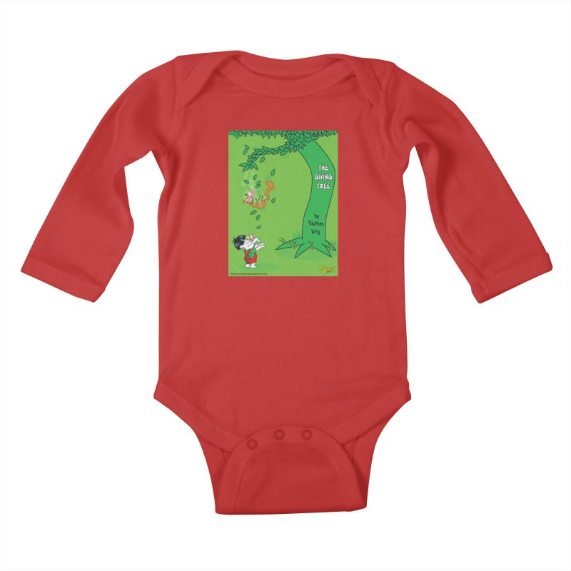 The Giving Tree Kids Baby Longsleeve Bodysuit by righthemispherelaboratory's Shop