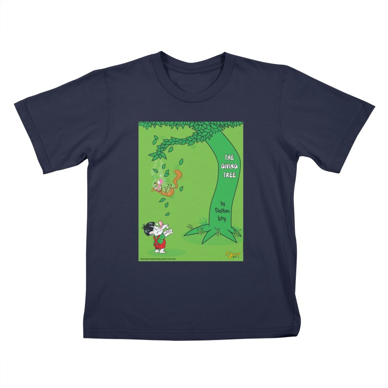The Giving Tree Kids T-Shirt by righthemispherelaboratory's Shop