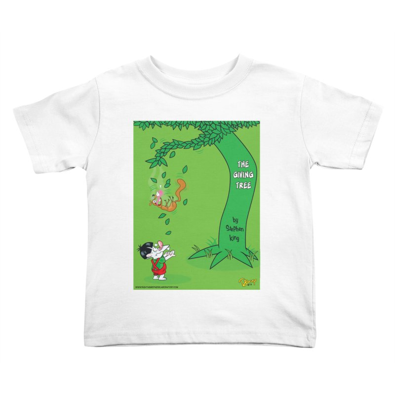 The Giving Tree Kids Toddler T-Shirt by righthemispherelaboratory's Shop