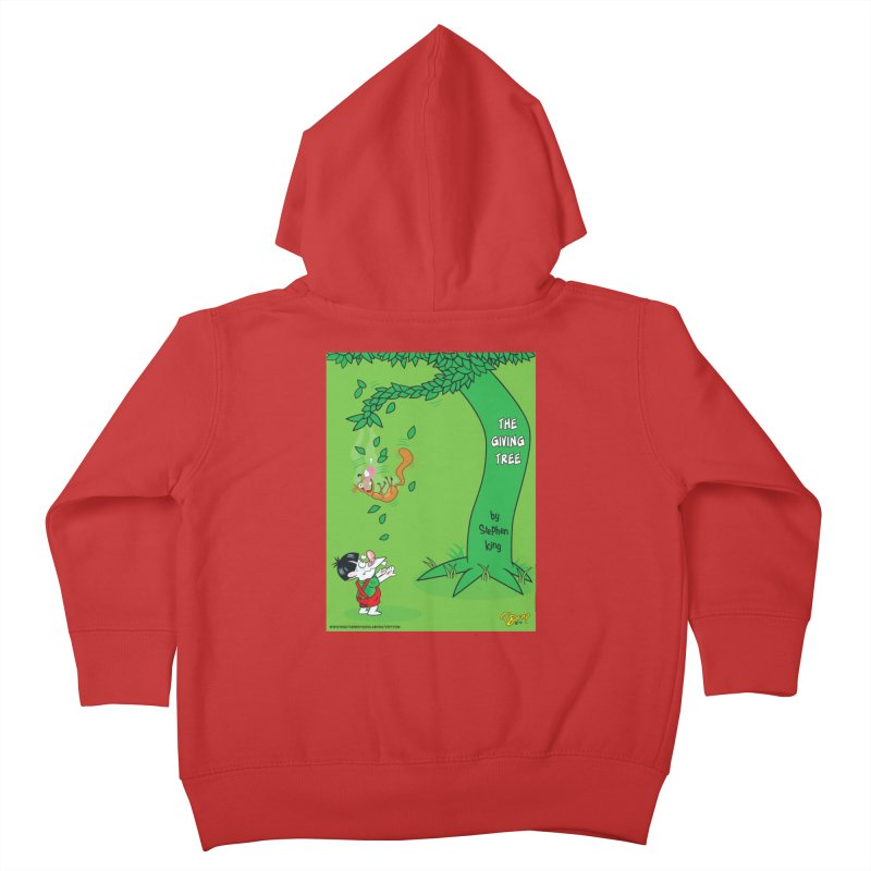 The Giving Tree Kids Toddler Zip-Up Hoody by righthemispherelaboratory's Shop