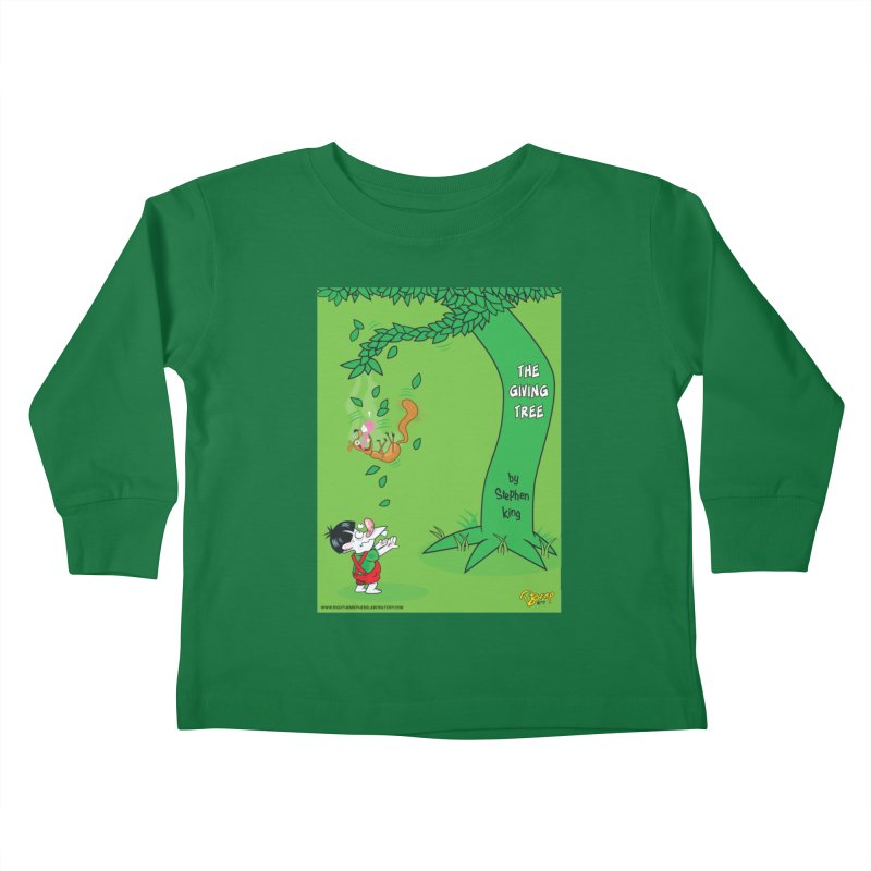 The Giving Tree Kids Toddler Longsleeve T-Shirt by righthemispherelaboratory's Shop