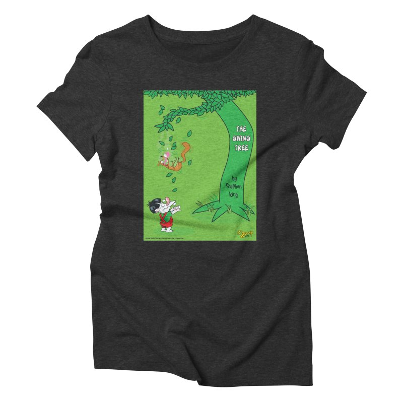 The Giving Tree Women's Triblend T-Shirt by righthemispherelaboratory's Shop