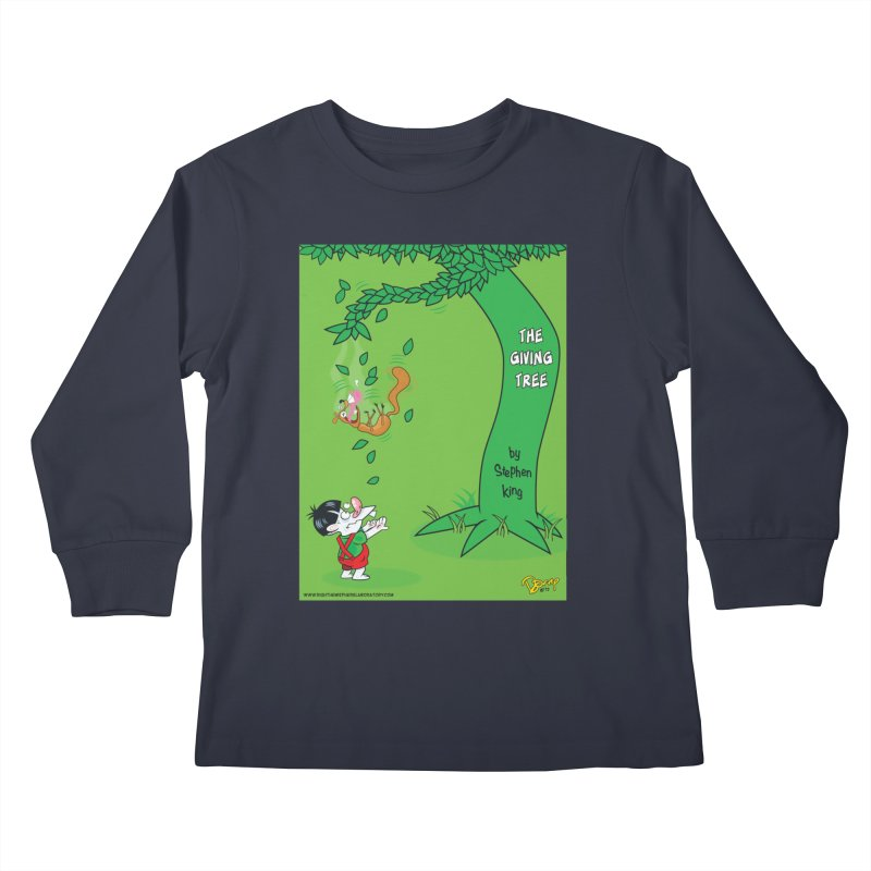 The Giving Tree Kids Longsleeve T-Shirt by righthemispherelaboratory's Shop