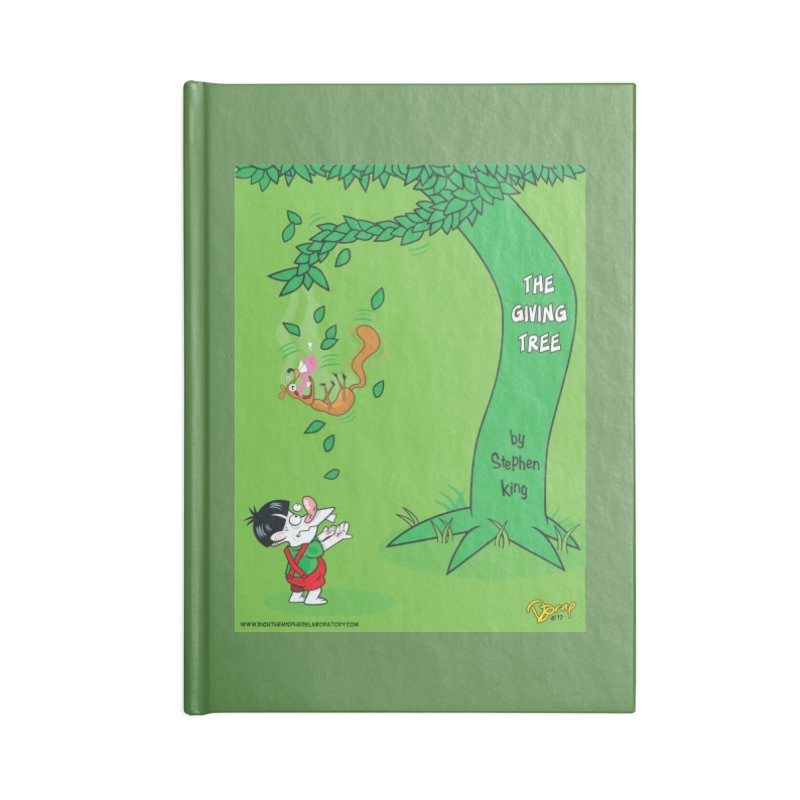 The Giving Tree Accessories Notebook by righthemispherelaboratory's Shop