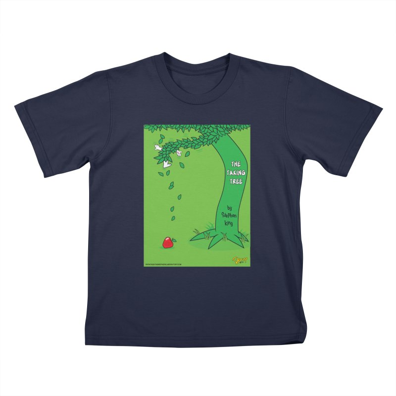 The Taking Tree Kids T-Shirt by righthemispherelaboratory's Shop