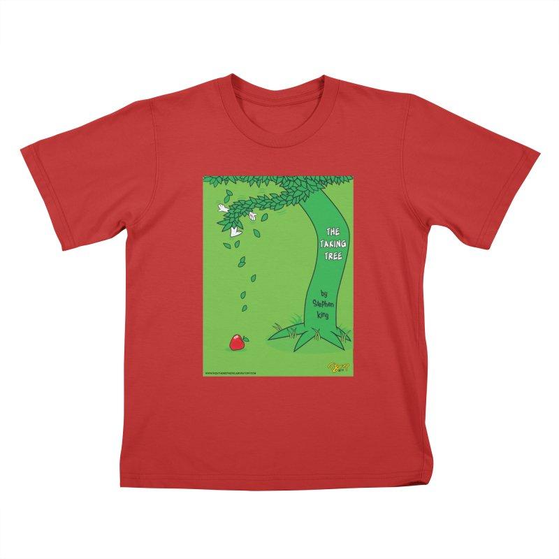 The Taking Tree Kids T-Shirt by righthemispherelaboratory's Shop
