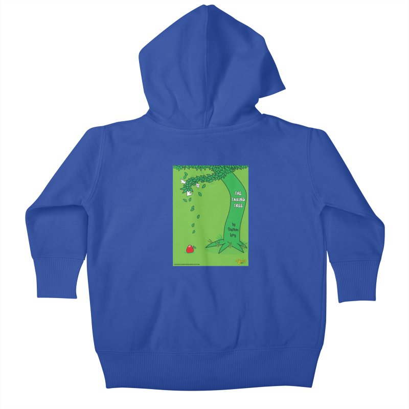 The Taking Tree Kids Baby Zip-Up Hoody by righthemispherelaboratory's Shop