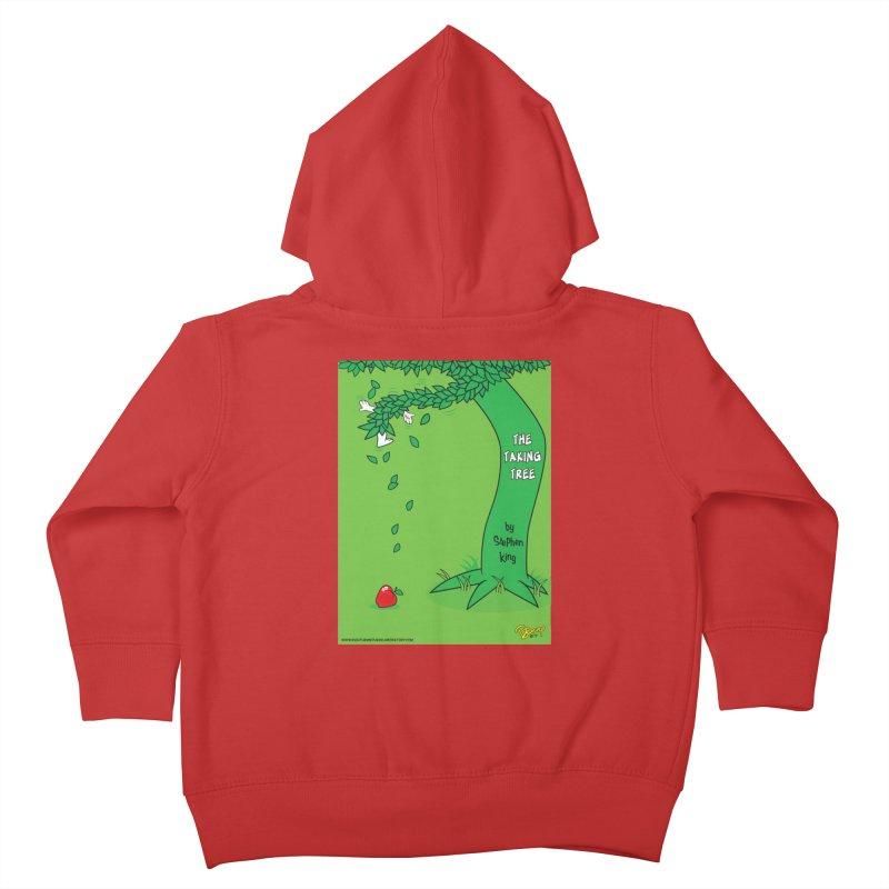 The Taking Tree Kids Toddler Zip-Up Hoody by righthemispherelaboratory's Shop