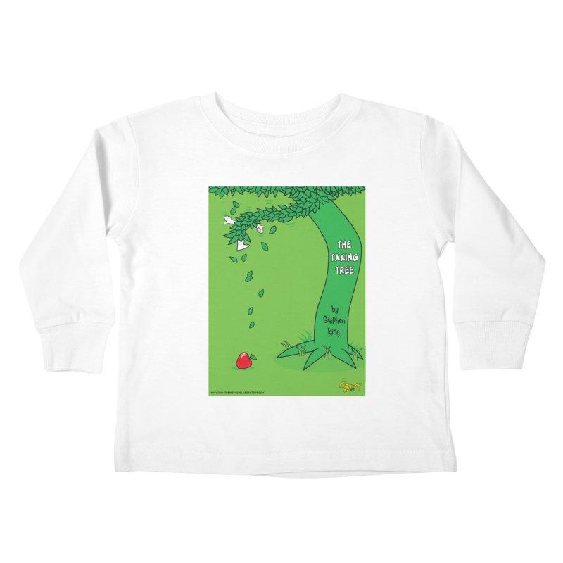 The Taking Tree Kids Toddler Longsleeve T-Shirt by righthemispherelaboratory's Shop