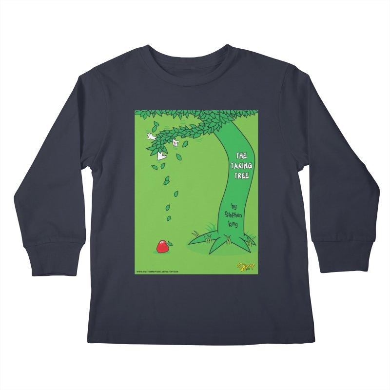 The Taking Tree Kids Longsleeve T-Shirt by righthemispherelaboratory's Shop