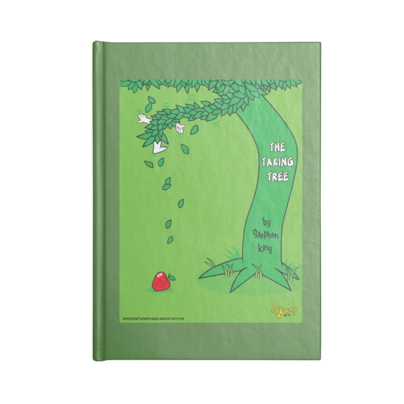 The Taking Tree Accessories Notebook by righthemispherelaboratory's Shop