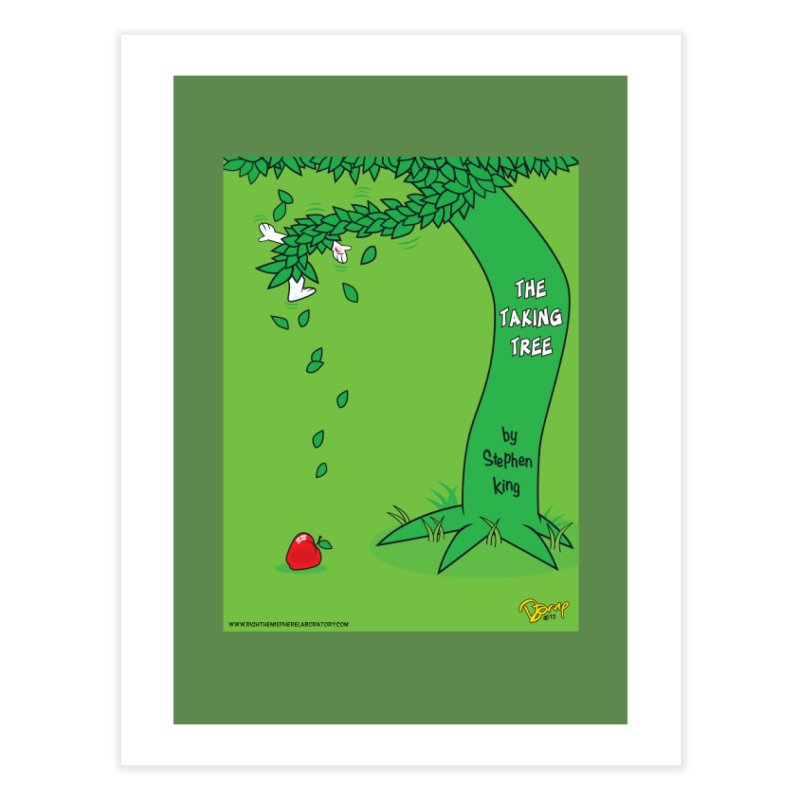 The Taking Tree Home Fine Art Print by righthemispherelaboratory's Shop