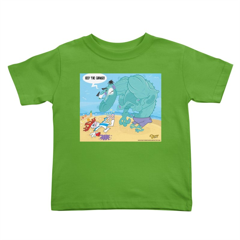 Hulk vs Punchy Kids Toddler T-Shirt by righthemispherelaboratory's Shop