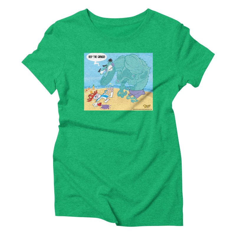 Hulk vs Punchy Women's T-Shirt by righthemispherelaboratory's Shop