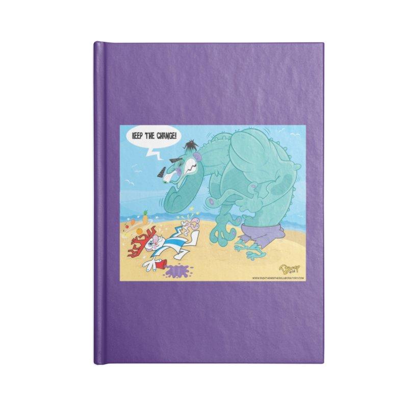 Hulk vs Punchy Accessories Notebook by righthemispherelaboratory's Shop