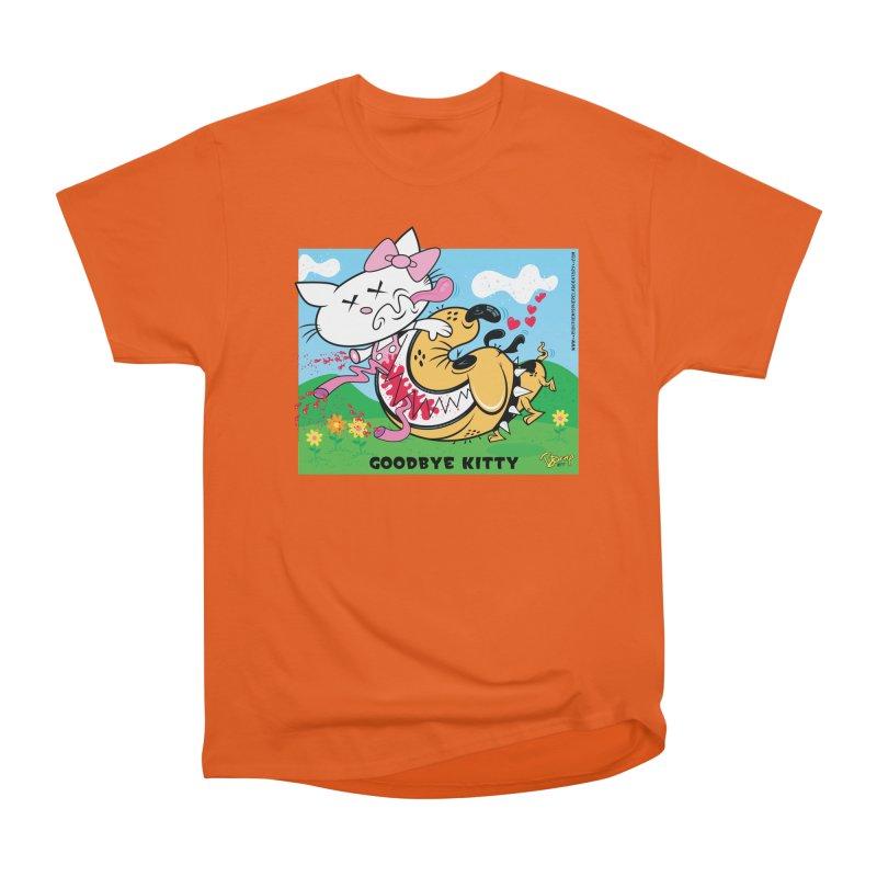 Goodbye Kitty Men's T-Shirt by righthemispherelaboratory's Shop