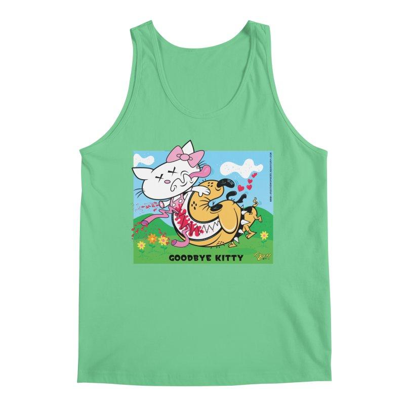 Goodbye Kitty Men's Regular Tank by righthemispherelaboratory's Shop