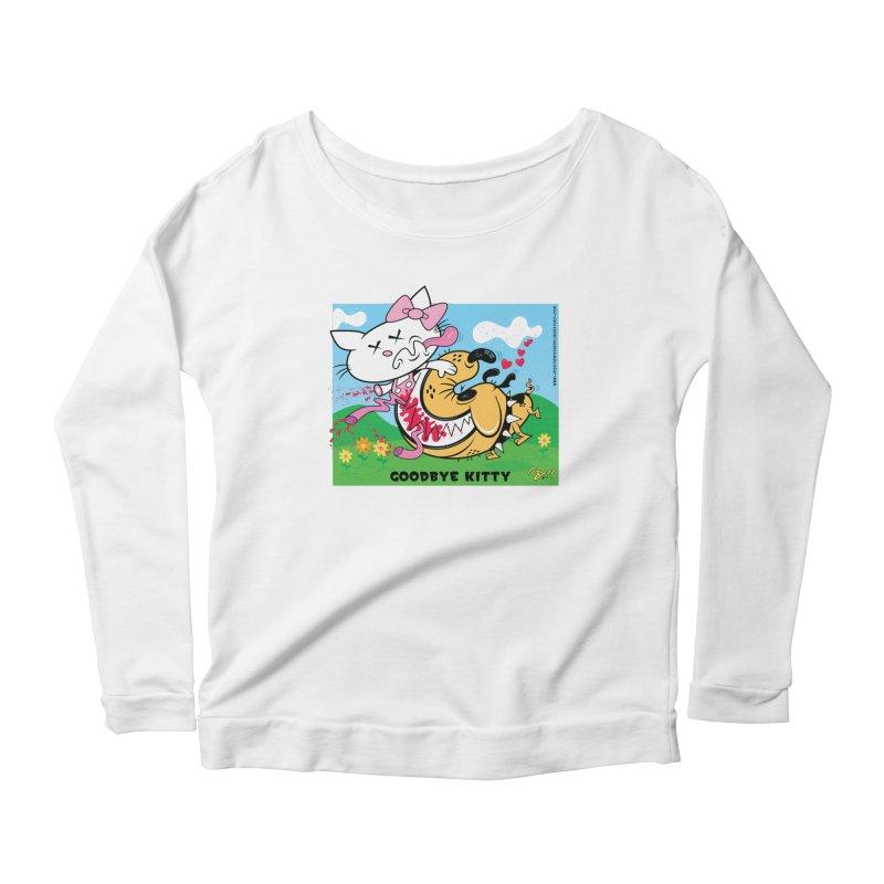 Goodbye Kitty Women's Scoop Neck Longsleeve T-Shirt by righthemispherelaboratory's Shop