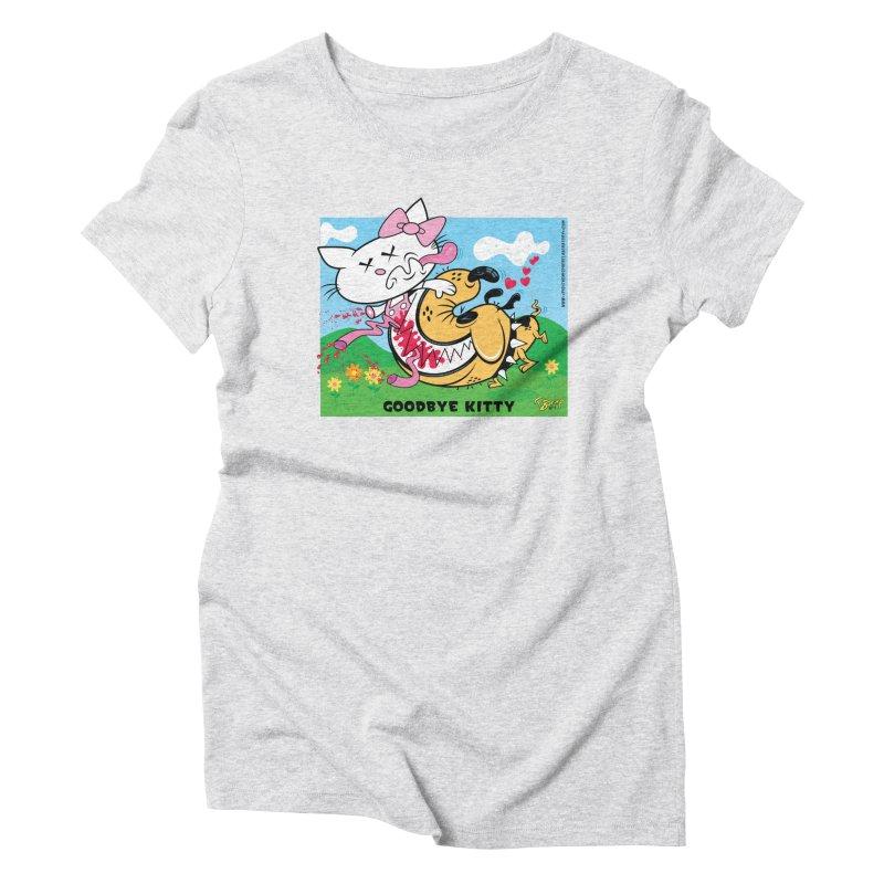 Goodbye Kitty Women's T-Shirt by righthemispherelaboratory's Shop