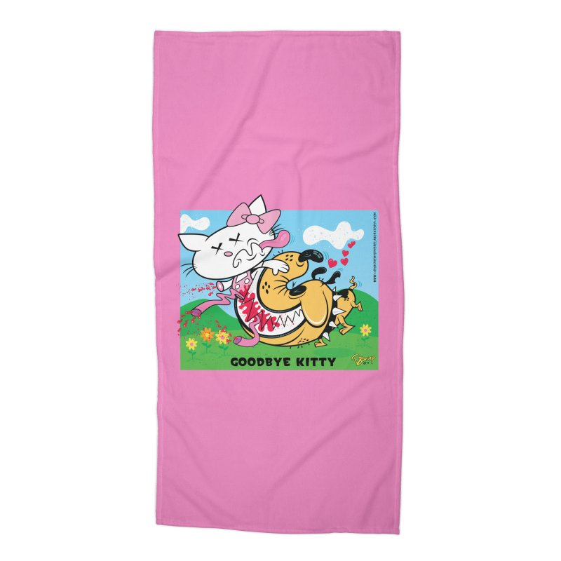 Goodbye Kitty Accessories Beach Towel by righthemispherelaboratory's Shop