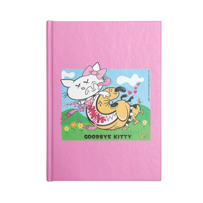 Goodbye Kitty Accessories Notebook by righthemispherelaboratory's Shop