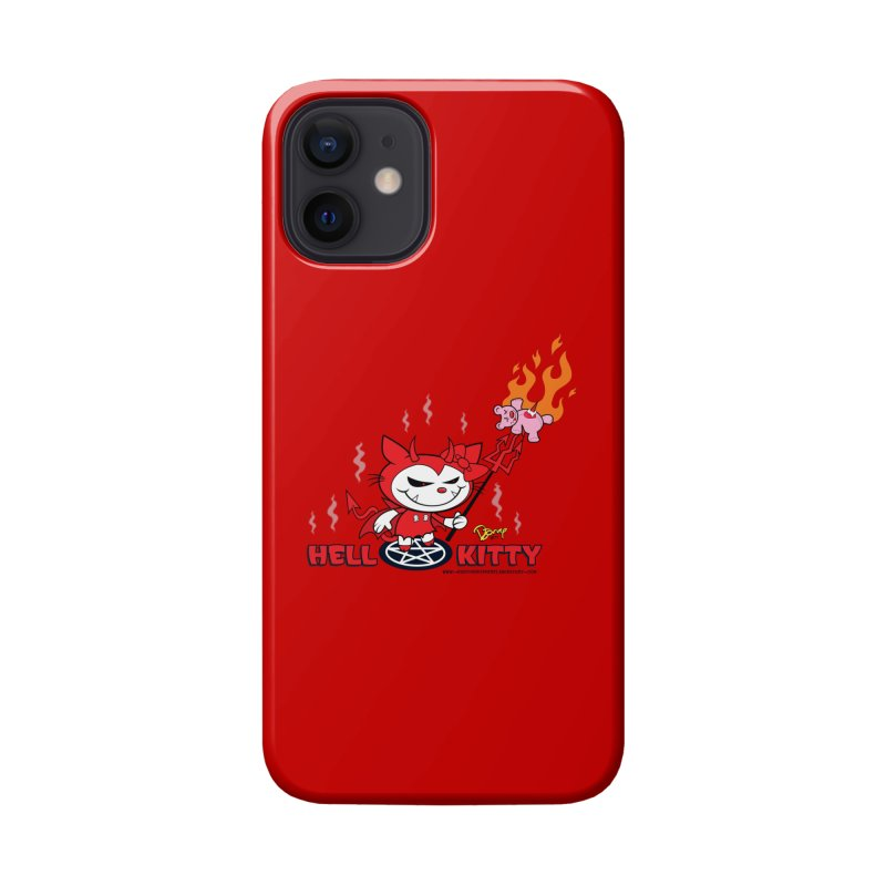 Hell Kitty Accessories Phone Case by righthemispherelaboratory's Shop