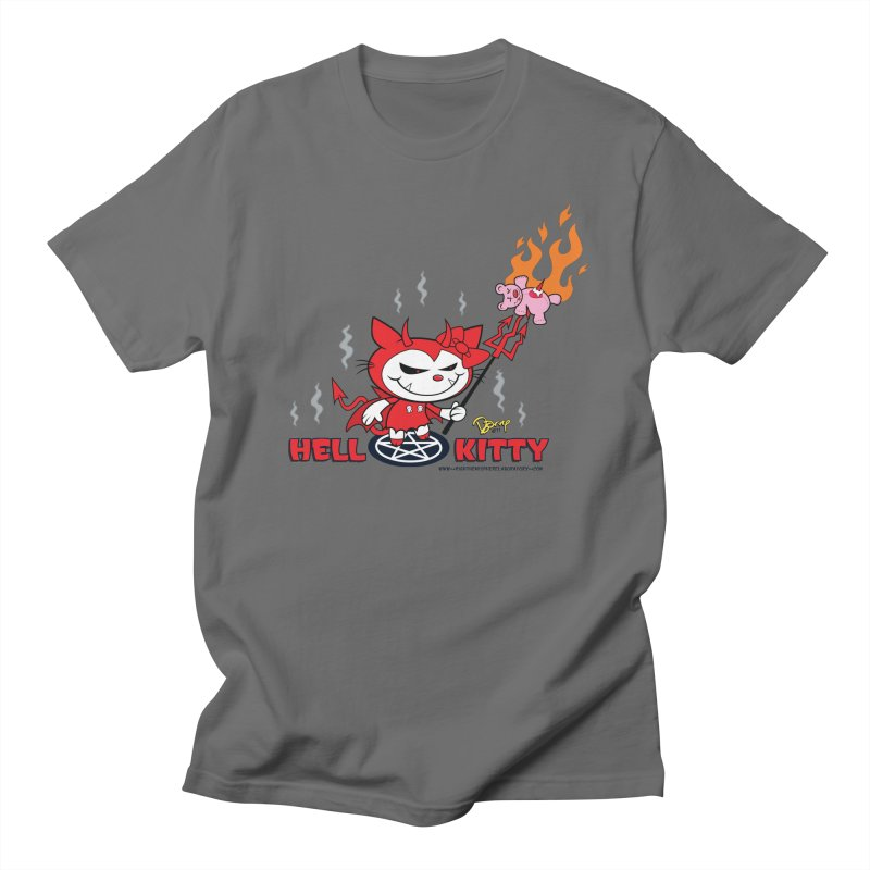 Hell Kitty Men's T-Shirt by righthemispherelaboratory's Shop
