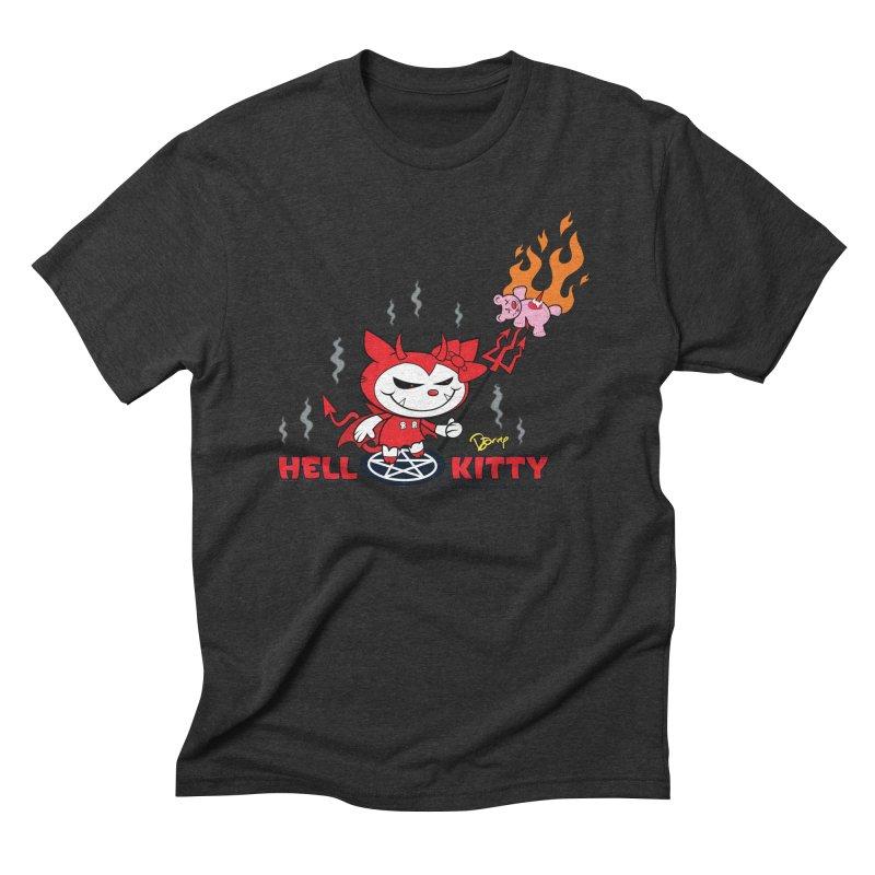 Hell Kitty Men's Triblend T-Shirt by righthemispherelaboratory's Shop