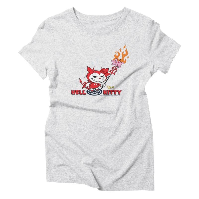 Hell Kitty Women's T-Shirt by righthemispherelaboratory's Shop