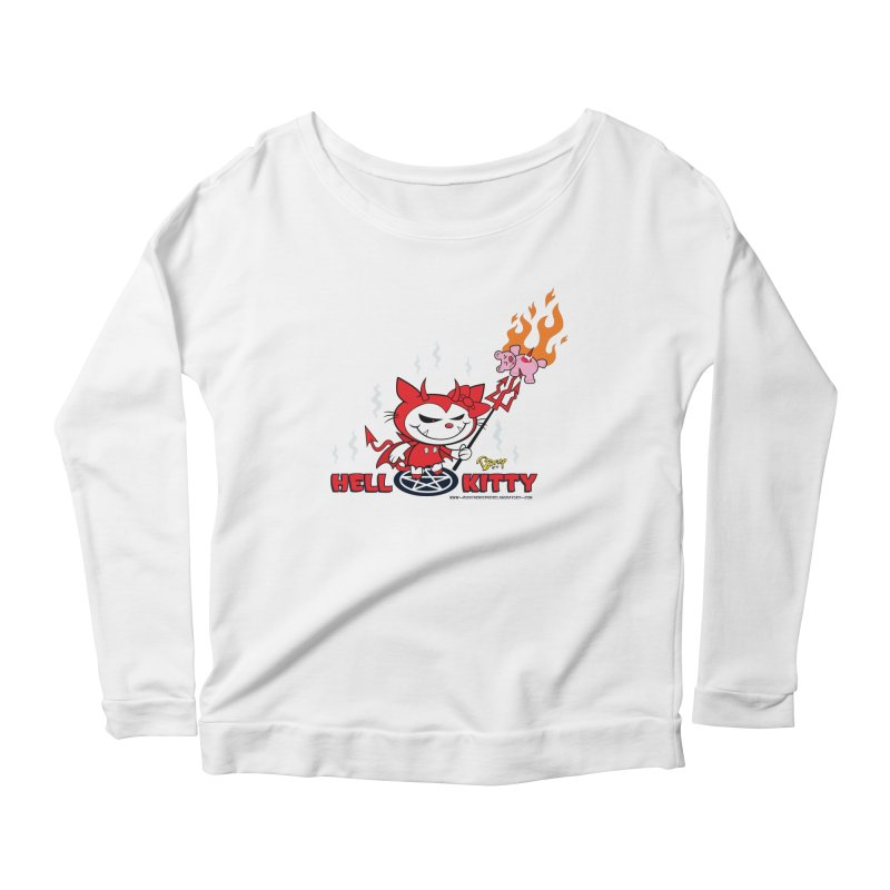 Hell Kitty Women's Longsleeve T-Shirt by righthemispherelaboratory's Shop