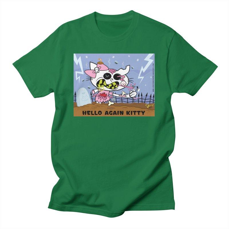 Hello Again Kitty Men's T-Shirt by righthemispherelaboratory's Shop