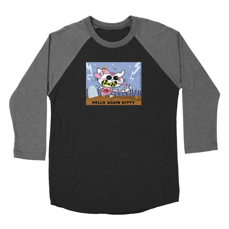 Hello Again Kitty Women's Longsleeve T-Shirt by righthemispherelaboratory's Shop