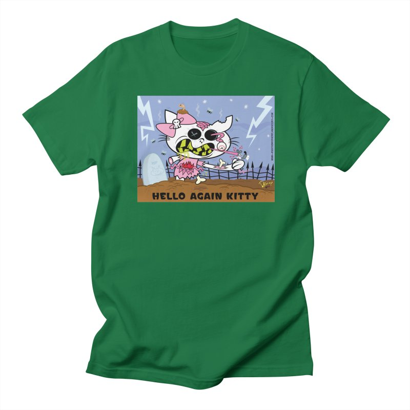 Hello Again Kitty Men's T-Shirt by righthemispherelaboratory's Shop
