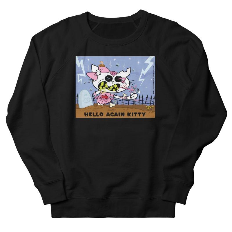 Hello Again Kitty Women's Sweatshirt by righthemispherelaboratory's Shop