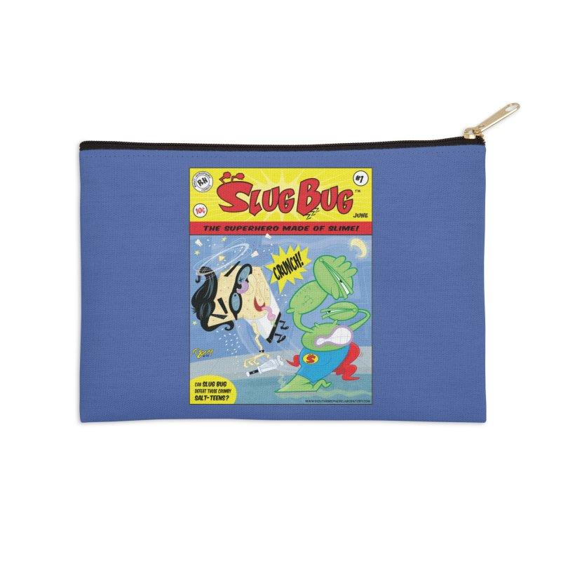 SlugBug Accessories Zip Pouch by righthemispherelaboratory's Shop